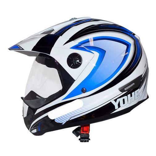 Capacete-Cross-Yohe-Trail-Sport-Azul