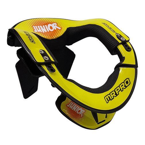 Protetor-neck-brace-junior-amarelo